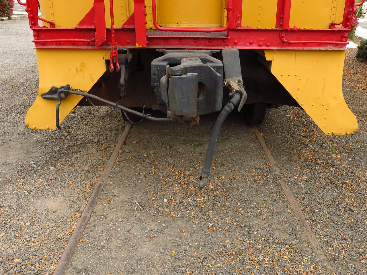 A ground view of the coupler.