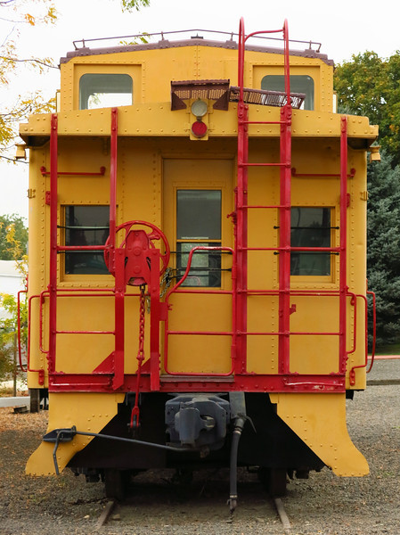 One end of the UP caboose.