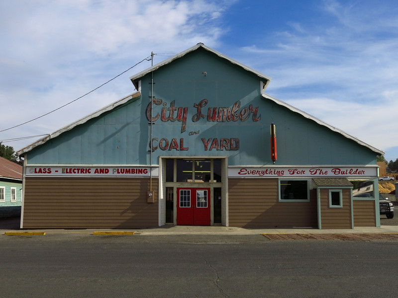 CIty Lumber and Coal Yard in Dayton.
