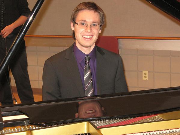 Kevin's Graduate Recital at UNC, March 21, 2012