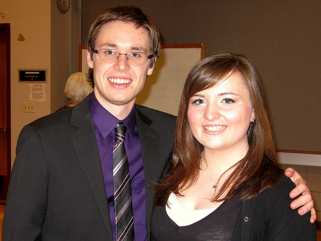 Kevin and Becca.