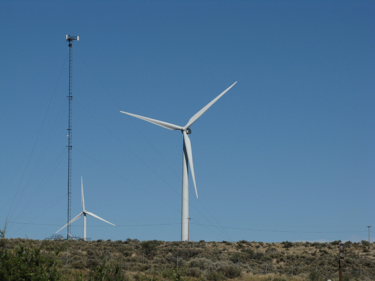 The Wild Horse wind farm came online in 2006 and it was expanded in 2009.