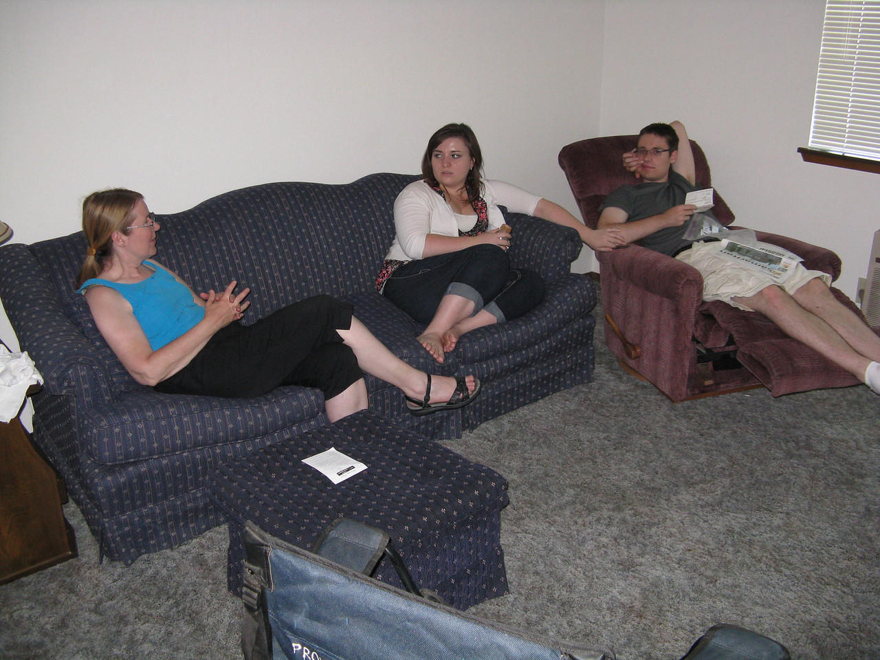 Mary, Becca and Kevin.