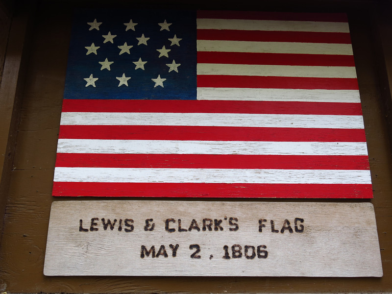 The American flag as it appeared in 1806.  There are 15 stars for 15 states.
