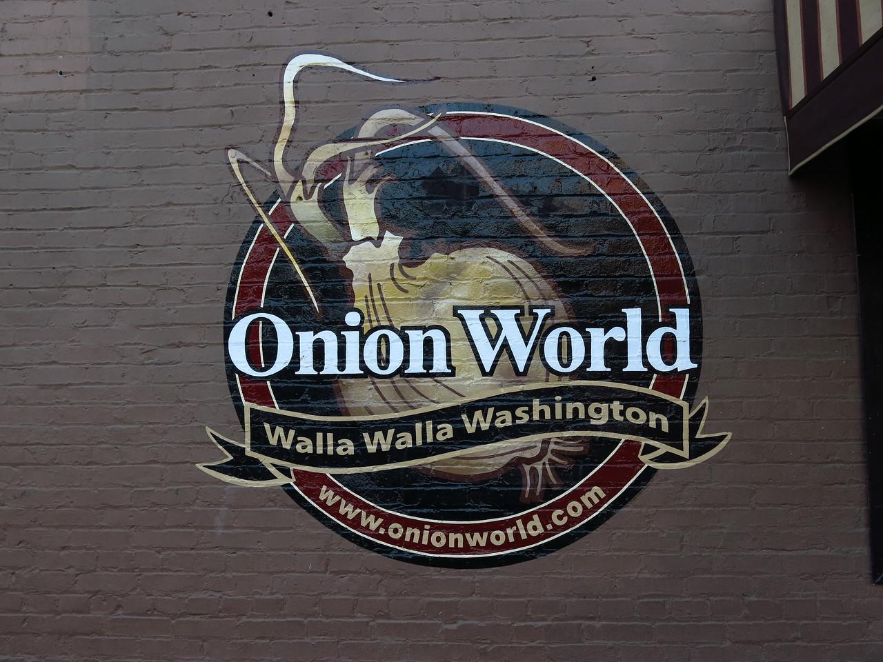 Walla Walla onions are very sweet.