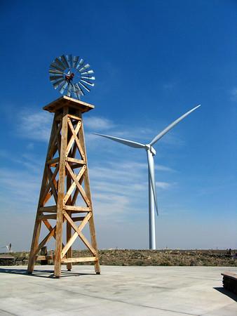 Wild Horse Wind Farm, Aug 14, 2012