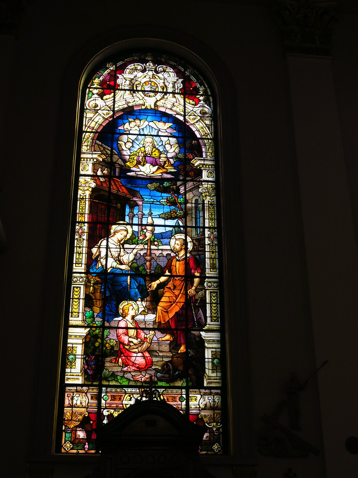 Stained glass windows of the Cathedral