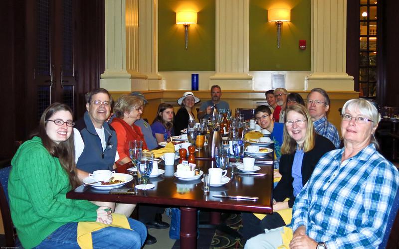 Family in Mobile, Alabama,  Nov 9-10, 2013