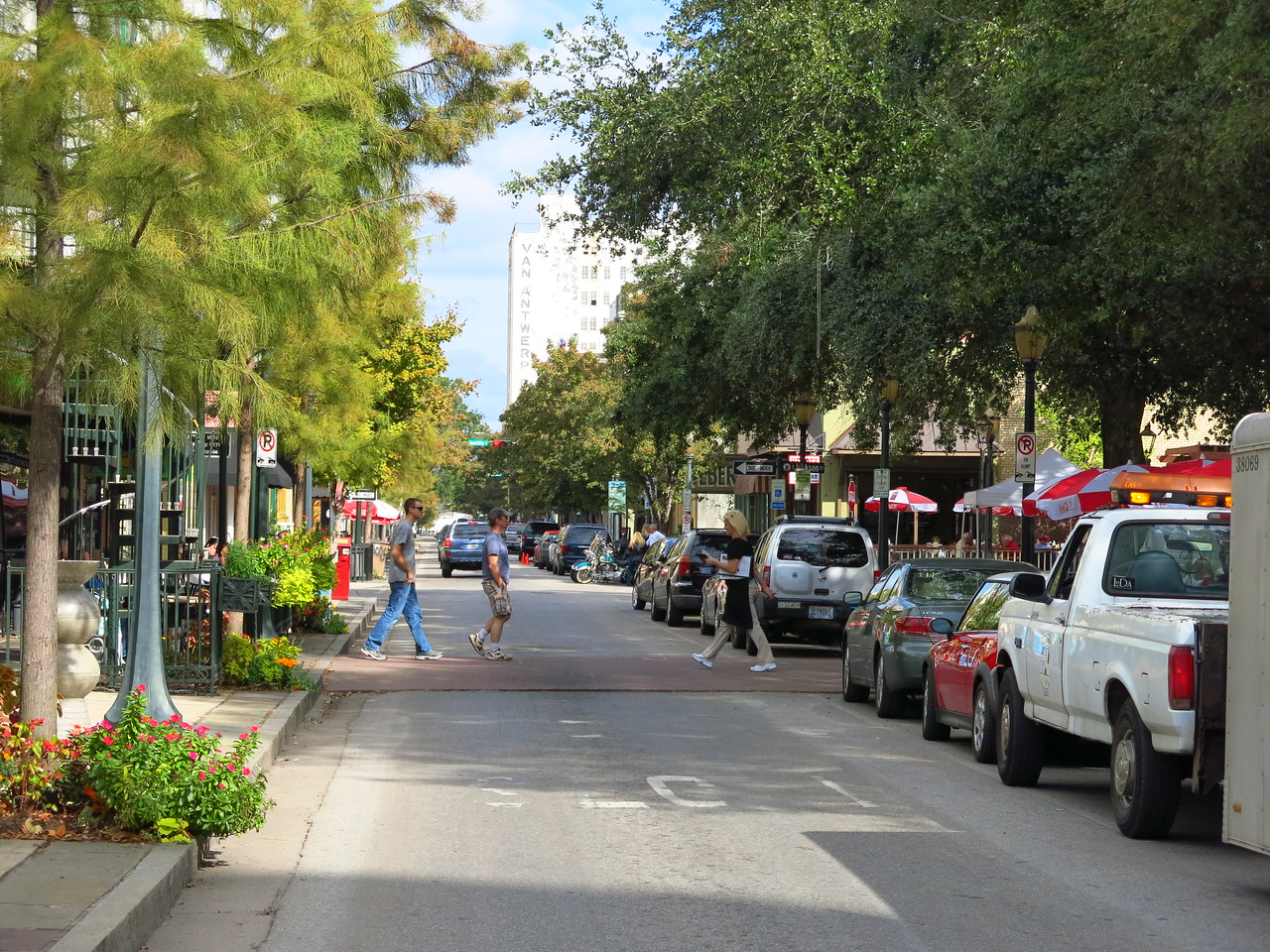 Dauphin Street at Cathedral Plaza