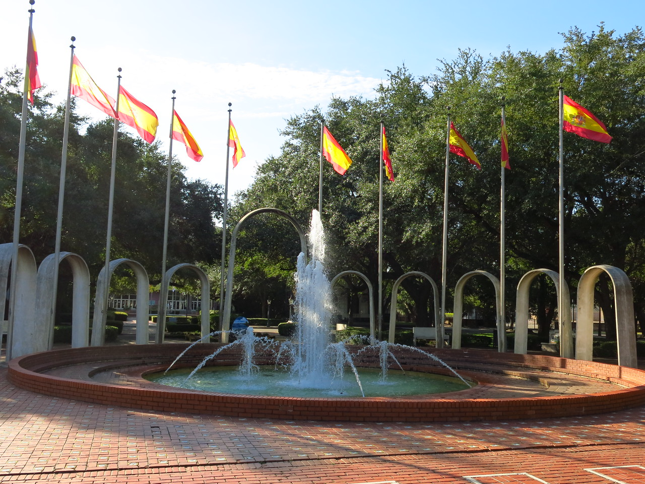 Fountain in Spanish Plaza