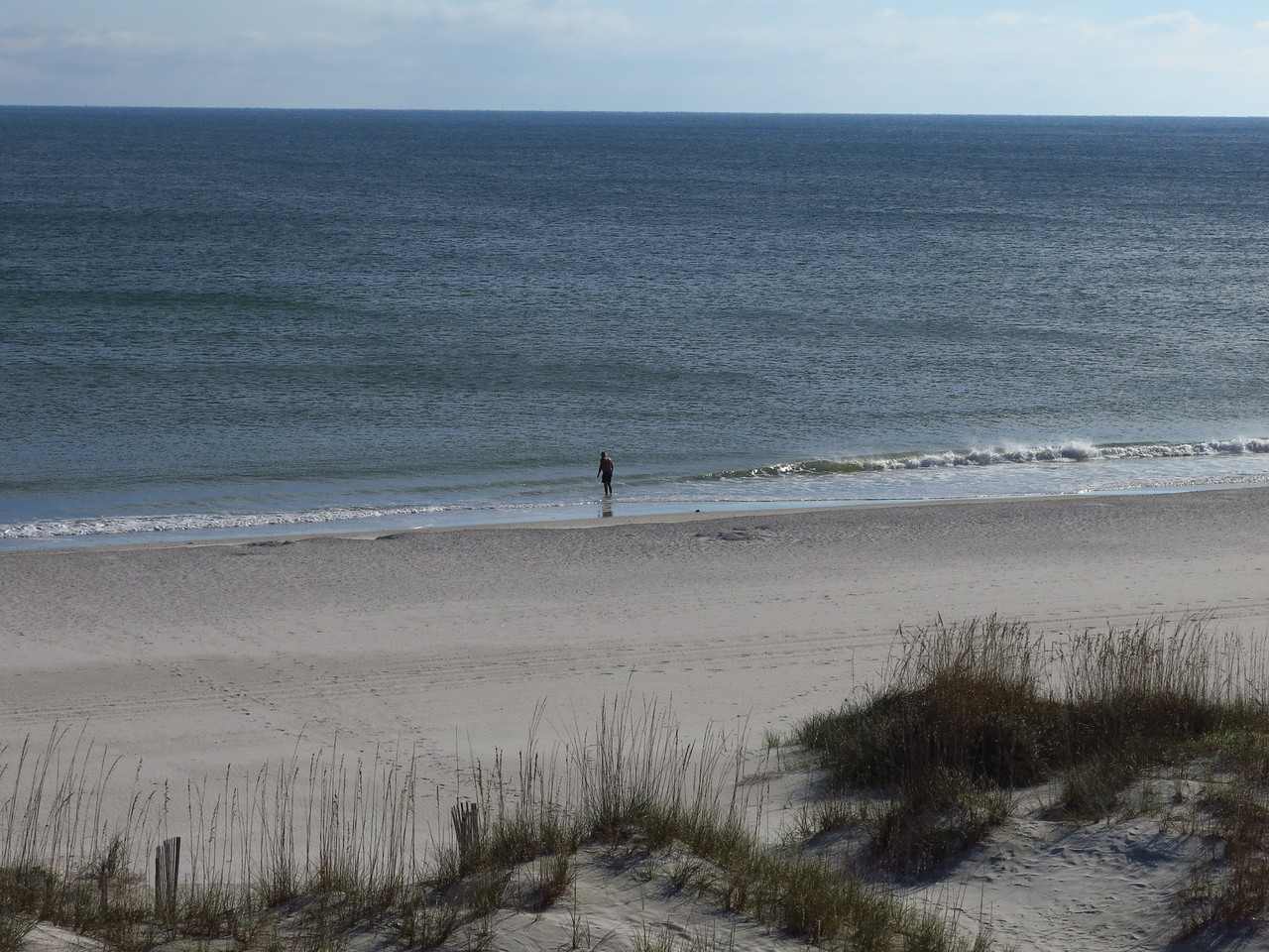 Back at the hotel on the beach on Thursday afternoon, November 7th