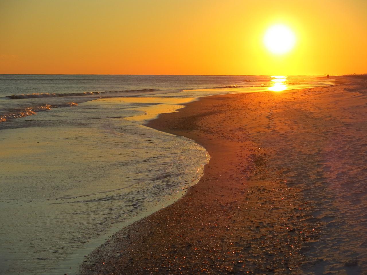 Sunset on Thursday, November 7