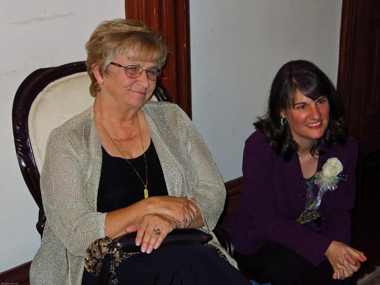 Kathi and Sonia