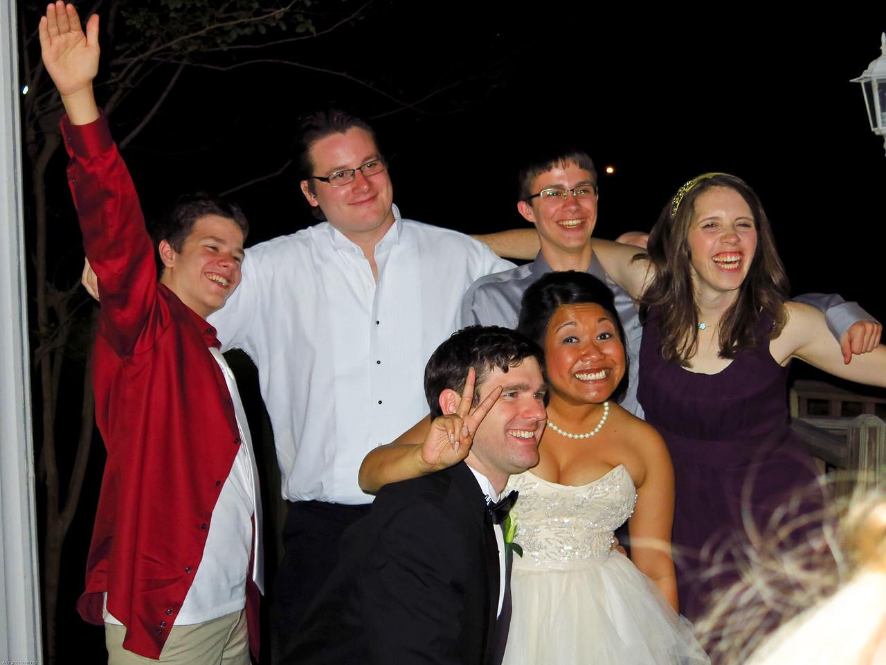 Gabe, Stuart, Garrison, Ann, Robert and Christy