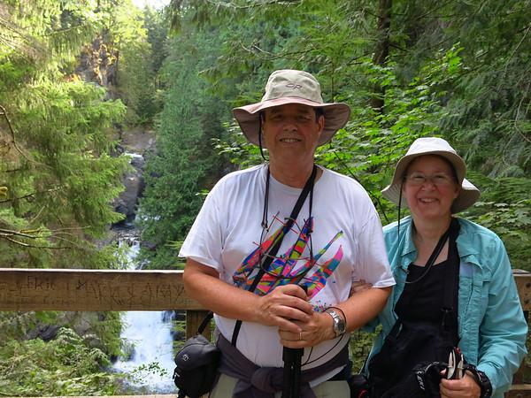 Twin Falls SP hike, Aug 25, 2013