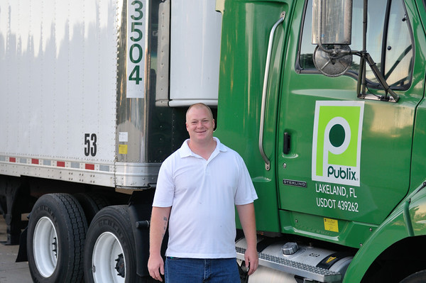 John and His Publix Truck