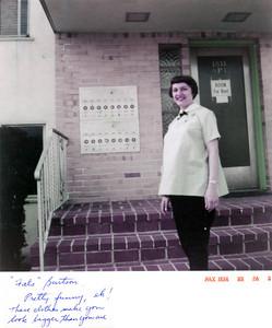 July, 1958 Dorothy (Szymanski) Burtson.
