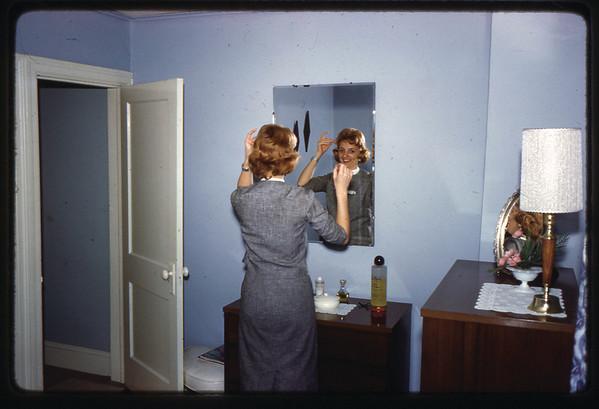 1962 611 Spruce Street, Trenton, NJ Ann (Angie) Szymanski in her bedroom.