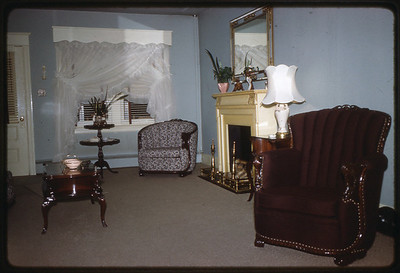 1962 611 Spruce Street, Trenton, NJ The Szymanski living room.
