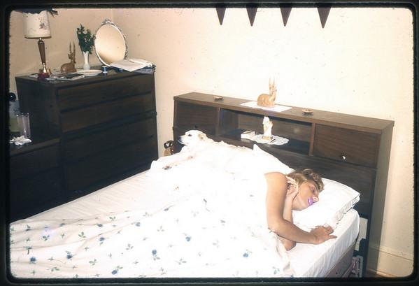 January 1962 611 Spruce Street, Trenton, NJ Ann (Angie) Szymanski.