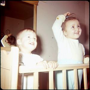 January, 1965 21 Ray Street, Ewing, NJ Susan Ann Szymanski and Maria Jean (Szymanski) Mens.