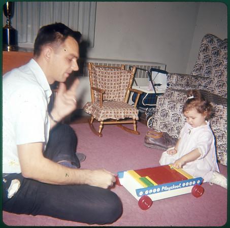 January, 1965 Susan Ann Szymanski and John Joseph Szymanski.