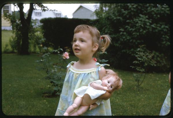 Summer 1966 at Ray Street, Maria.