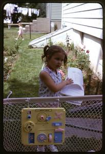 Summer 1966 at Ray Street, Susan.