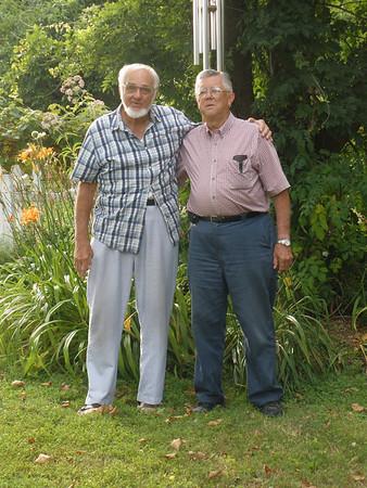 July 27, 2011 4909 Curly Hill Road, Doylestown, PA Cousins reunited! John Joseph Szymanski and Arthur Kusek. A wonderful afternoon of reminiscing.