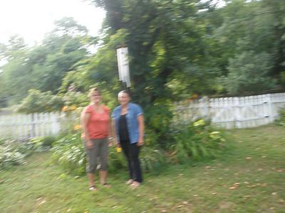 July 27, 2011 4909 Curly Hill Road, Doylestown, PA Sharon (Hurley) Goralski and Susan Szymanski.