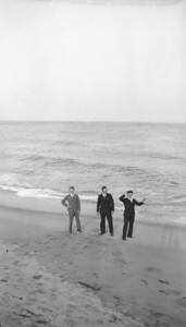 Undated - late 1920's or early 1930's Long Island or northern coast of New Jersey LEFT - Henry Kuck.