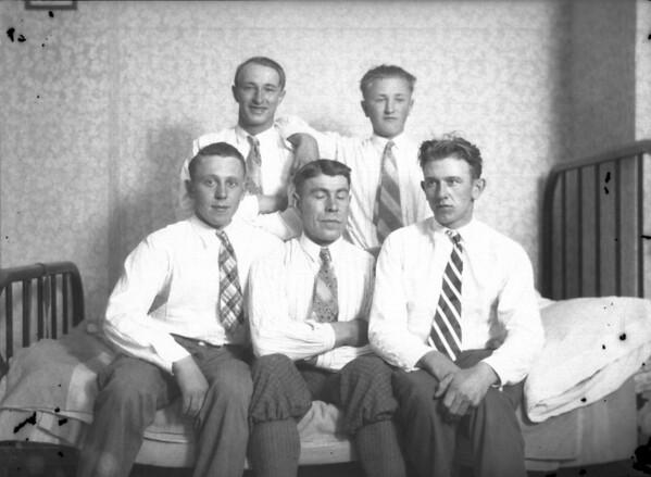 Undated, About 1928 TOP ROW - Martin Kuck, Henry Kuck