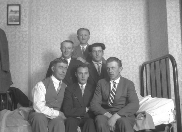 About 1928 TOP CENTER - Henry Kuck. SECOND ROW, LEFT - Martin Kuck.