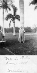 December, 1944 Martin Kuck in Miami, FL.