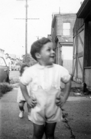 September 25, 1943 (photo development date) Thomas Taylor, son of Margaret Ruth (Keating) (Taylor) Kuck.