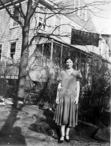 March 1, 1930 523 8th Avenue, Belmar, NJ Anna Regina (Keating) Morris.