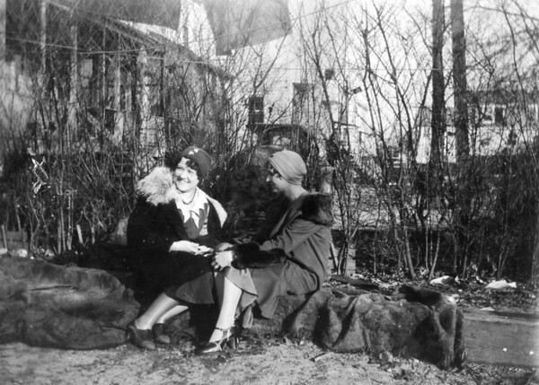 March 1, 1930 523 8th Avenue, Belmar, NJ Florence Daigneault and Anna Regina (Keating) Morris.
