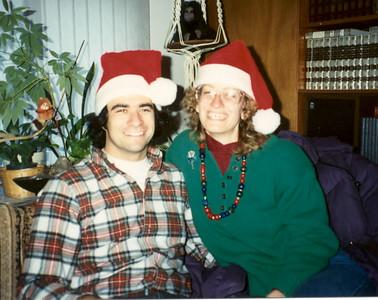 1990 Jim Ellen Santa Hats