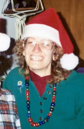 1990 Ellen Santa Hat