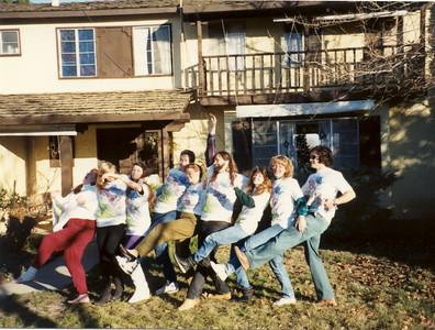 1990 new San Andreas Fault t-shirts