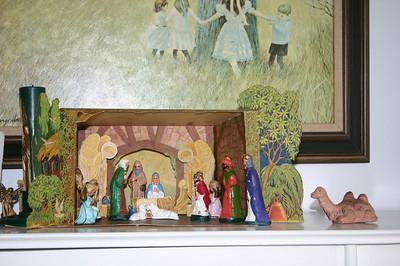 creche (manger scene) decorations