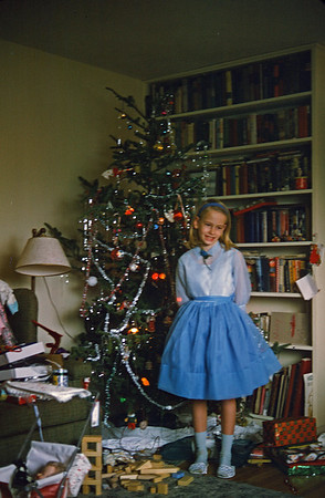 1964 tree and gifts