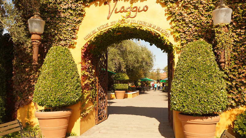 Viaggio Winery entrance. A very nicely decorated and appointed. This would be a fine venue for weddings, or as today, birthdays.
