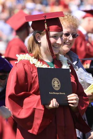 CWU Graduation - Brittany 6/13/2009