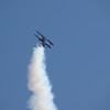 """Super Stearman - Eddie Andreini. <a href=""""http://www.eddieandreiniairshows.com/airshowinfo.html"""">http://www.eddieandreiniairshows.com/airshowinfo.html</a> approaching stall speed."""