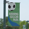 The very nice Redding Soccer Park was the site of todays game. Jadin's team clearly had been better coached. Their footwork was superior which showed in the final 6-0 score.