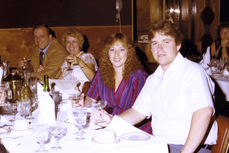 Mike Tomaselli; Wanda Tomaselli; Tina McGlaggen; Scott McGlaggen