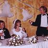 The toast. John Donaldson; Nancy Rawlings Donaldson; Jerry Donaldson