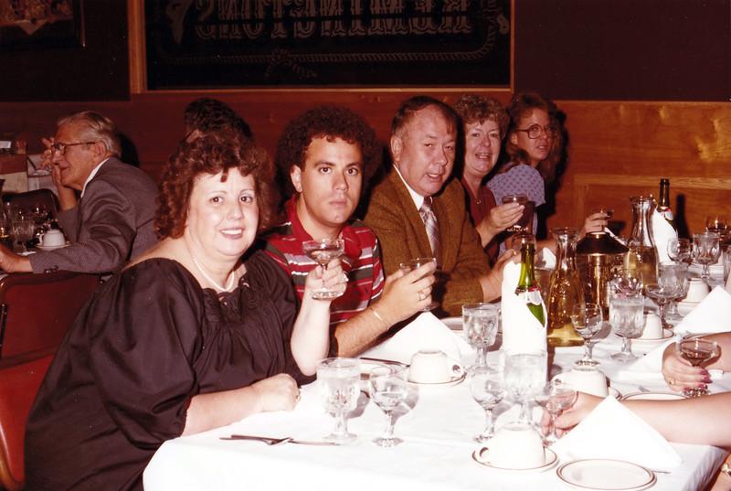 Jerry Dimos; Thomas Dimos; Dick Lee; Kay Lee; Laurie Dominguez