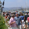 Lots of people, sometimes we couldn't walk as the crowds were so thick.